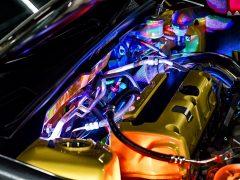 Backlit Engine Nissan Gloria JDM